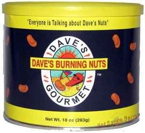 Hot Sauce Depot 60078000 Daves Burning Nuts, 10oz - Pack of 3 from Hot Sauce Depot