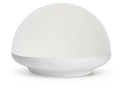 Urge Basics Soundome Bluetooth Wireless Speaker With Built-In Long Lasting Rechargable Battery And Crisp Sound - Retail Packaging - White