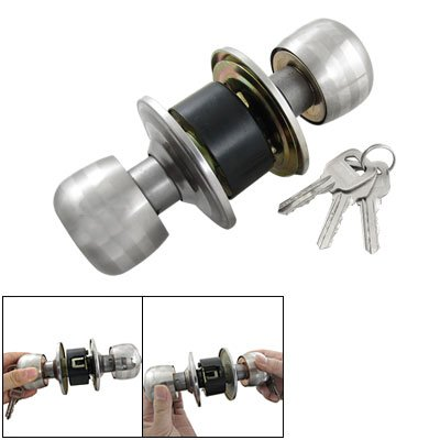 Como Bedroom Door Privacy Ball Knob Metal Loc...
