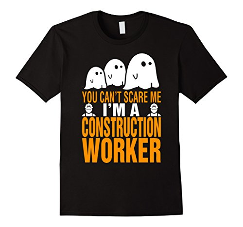 [Men's Construction Worker Costume Women T-Shirt 3XL Black] (Man Construction Worker Costume)