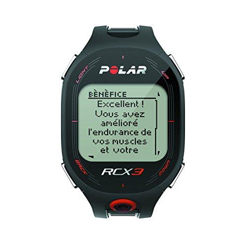 Polar RCX3 - Reloj con pulsómetro compatible con GPS, sensor de zancada y de velocidad para running y multisp