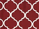 Noggle Extend Your Air Conditioning or Heat to Your Kids Instantly (8 Feet, Maroon Quatrefoil)