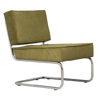 """Sessel """"Ridge"""" Farbe: Rippenstoff Grün"""