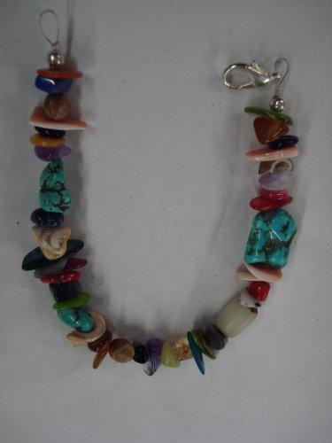 Navajo Multi Stone Shell Bracelet