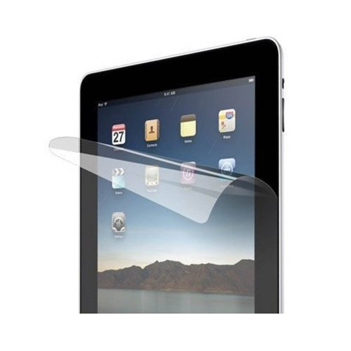 amCase (TM) Premium Screen Protector Film Clear (Invisible) for Apple iPad 2 and the New iPad (iPad, 3rd Generation) (2-Pack) NEWEST MODEL