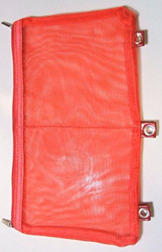 Namaste BYOB Build Your Own Binder Color Red Mesh Page Pocket Bag from Namaste