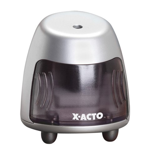 X-Acto Standup Mini Electric Sharpener, Mini Vertical - Silver (1724)