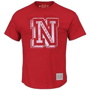 Nebraska Cornhuskers NCAA Vintage N Logo T-Shirt S by Retro