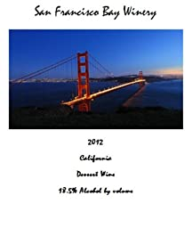 2012 San Francisco Bay Winery Dessert Wine 375 mL