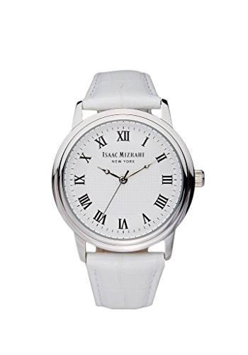 Round Vintage Case Watch in White