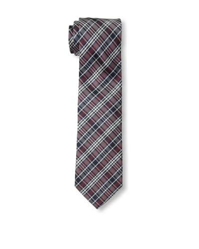 Ben Sherman Men's Grid Tie, Red