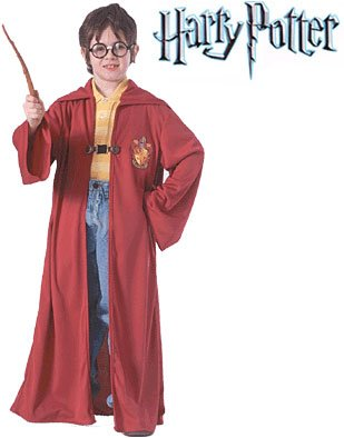 Harry Potter Quidditch Child Costume Size 4-6 Small