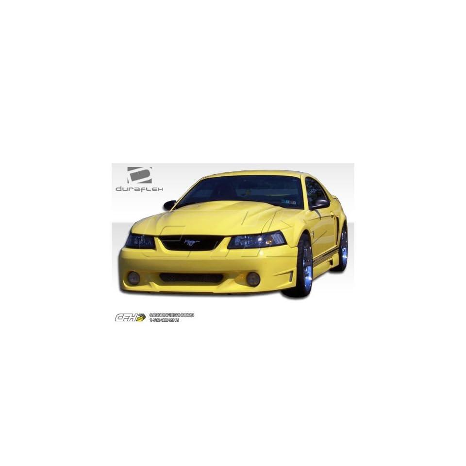 1999 2004 Ford Mustang Duraflex CVX Kit   Includes CVX Front Bumper (104838), CVX Sideskirts (104839), CVX Rear Bumper (104840)   Duraflex Body Kits