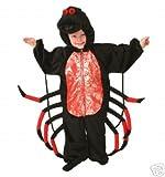 Plush Animal Costume Halloween Spider Toddler XS 1/2 yrs