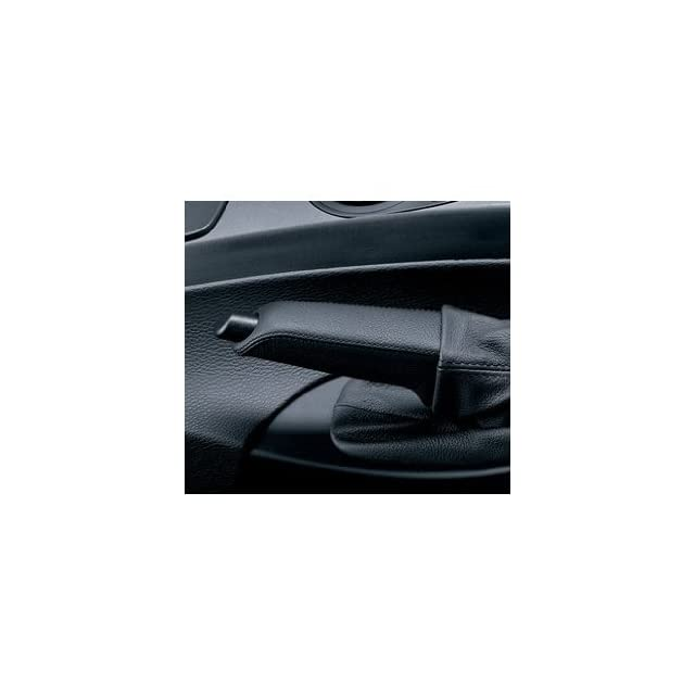BMW Leather Brake Handle   3 Series 2007 2012 (Except 2012 3 Series Sedans)/ X5 SAV 2005 2006/ 3 Series Convertible 2005 2006/ M3 Convertible 2005 2006/ 745i Sedan 2005/ 760i Sedan 2005 Automotive