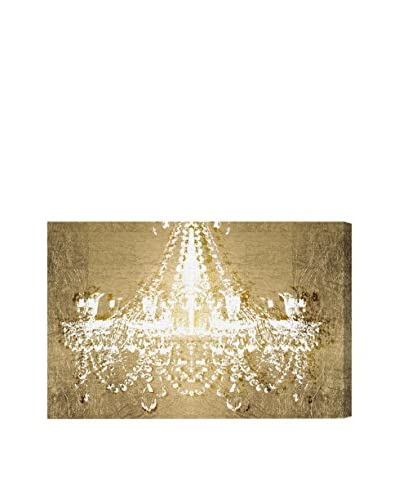 "Oliver Gal ""Dramatic Entrance Gold"" Canvas Art"