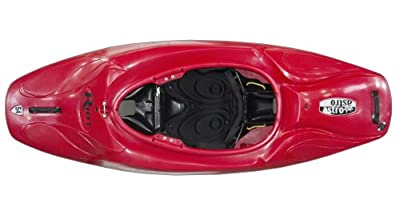 Riot Kayaks Red 6ft Astro 54 Whitewater Playboating Kayak