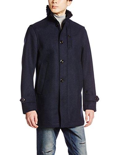 G-STAR RAW Garber Wool Trench, Giacca Uomo, Blu (Mazarine Blue 4213), Large