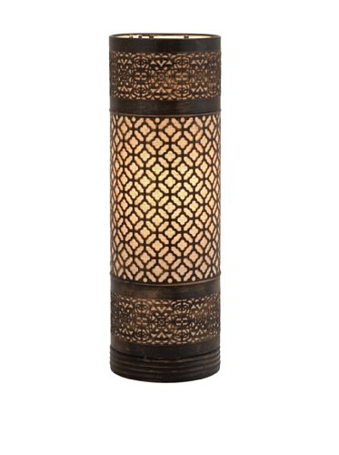 Moroccan cylinder lamp