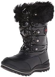 Cougar Women\'s Cranbrook Snow Boot, Black, 7 M US