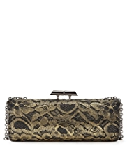 M&S Collection Floral Lace Clutch Bag