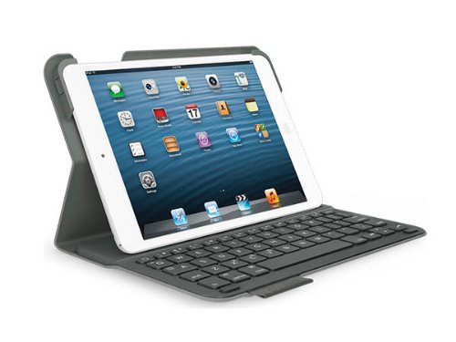 Logitech Ultrathin Keyboard Folio for iPad mini 3/ mini 2/ mini - Carbon Black (Ipad Mini 3 Keyboard Cover compare prices)