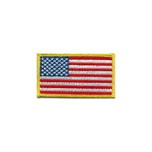 Amazon.com: American Flag Patch, Left Sleeve: Health & Personal Care