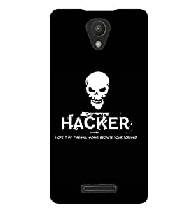 printtech Hacker Back Case Cover for Xiaomi Redmi Note 2::Xiaomi Redmi Note 2 (2nd Gen)