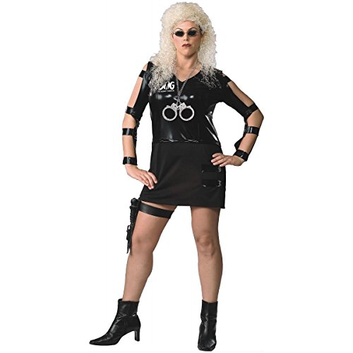 [GSG Beth Dog the Bounty Hunter Adult Womens Halloween Costume Std/Plus Sizes] (Woman Bounty Hunter Costume)