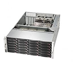 SUPERMICRO SuperChassis CSE-846BE16-R920B 920W 4U Rackmount Server Chassis (Black) / CSE-846BE16-R920B /