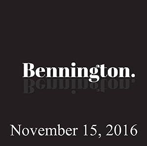 Bennington, November 15, 2016 Radio/TV Program