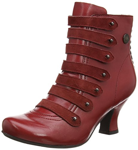 Hush PuppiesTiffin Verona - Stivaletti donna, Rosso (Red (Red Leather)), 43