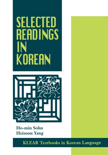 Selected Readings in Korean (Klear Textbooks in Korean...