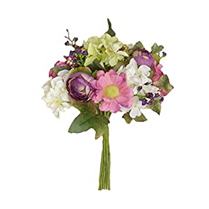 Your Hearts Delight Peony and Hydrangea Bouquet, 11-Inch