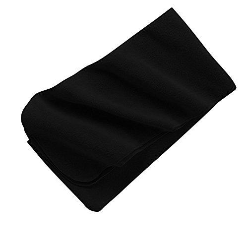 Port Authority Men'S Extra Long Fleece Scarf Osfa Black