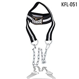 Head Lifter Harness Gym Training Neck Builder Weight Lifting Chain