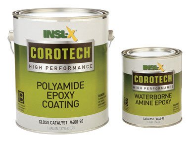 Insl X Products V400 5355 2K Corotech Poly Amide Epoxy Coating Gloss Battleship Gray