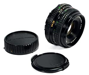 Minolta MD RokkorX 45mm f/2 Pancake Lens with Front, Rear Caps Minolta MC Mount