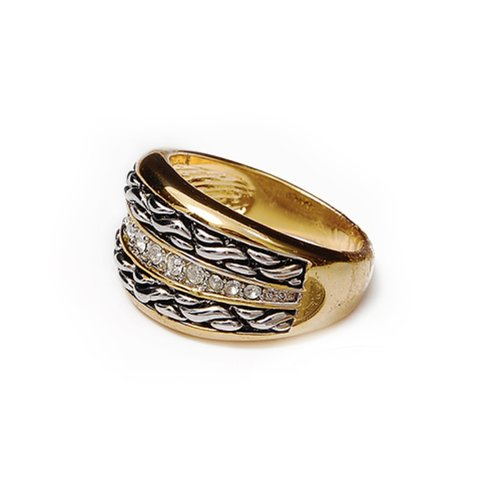 Fashion Trendy Design Ring Size:7 #021962