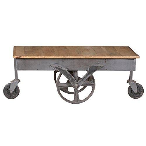 Vintage-Couchtisch-Claudio-Wohnzimmertisch-aus-Mango-Massivholz-und-Eisengestell-industrial-look-Sofatisch-Massivholztisch-Holztisch-auch-als-Gartentisch-retro-used-look