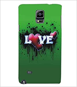 SAMSUNG GALAXY NOTE EDGE LOVE Designer Back Cover Case By PRINTSWAG