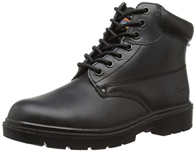 Dickies Men's Antrim S1-P Safety Boots FA23333 Black 6 UK, 40 EU
