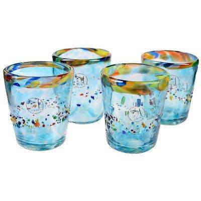 global-amici-del-sol-dof-glasses-set-of-4