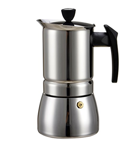 Coffee Maker On Gas : Generic 200 ML, 4 Cup Stainless Steel Moka Stovetop Espresso Coffee Maker Latte Percolator Stove ...