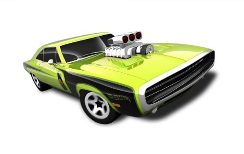 Hot Wheels - '70 Dodge Charger R/T (Green) - Muscle Mania, Mopar 12 - 3/10 ~ 83/247 [Scale 1:64] - 1