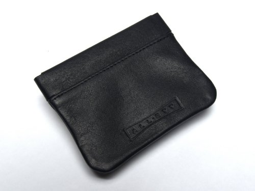 worlds-thinnest-wallet-coin-purse-leather-black