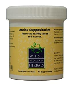 Wise woman herbals healing suppositories