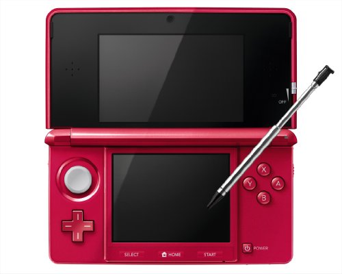 Nintendo 3DS - Metalic Red - Japanese Import (Works with Japanese Games Only)