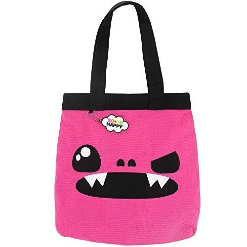 so-so-happy-taco-tote-pink-and-black-by-accessory-innovations