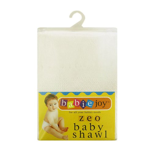 Junior Joy Zeo Check Baby Shawls, Cream